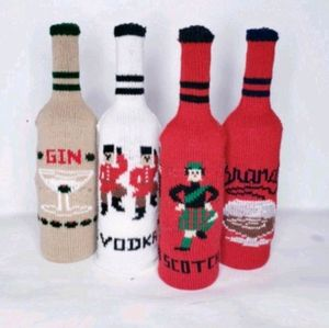 Vintage sweater bottle covers